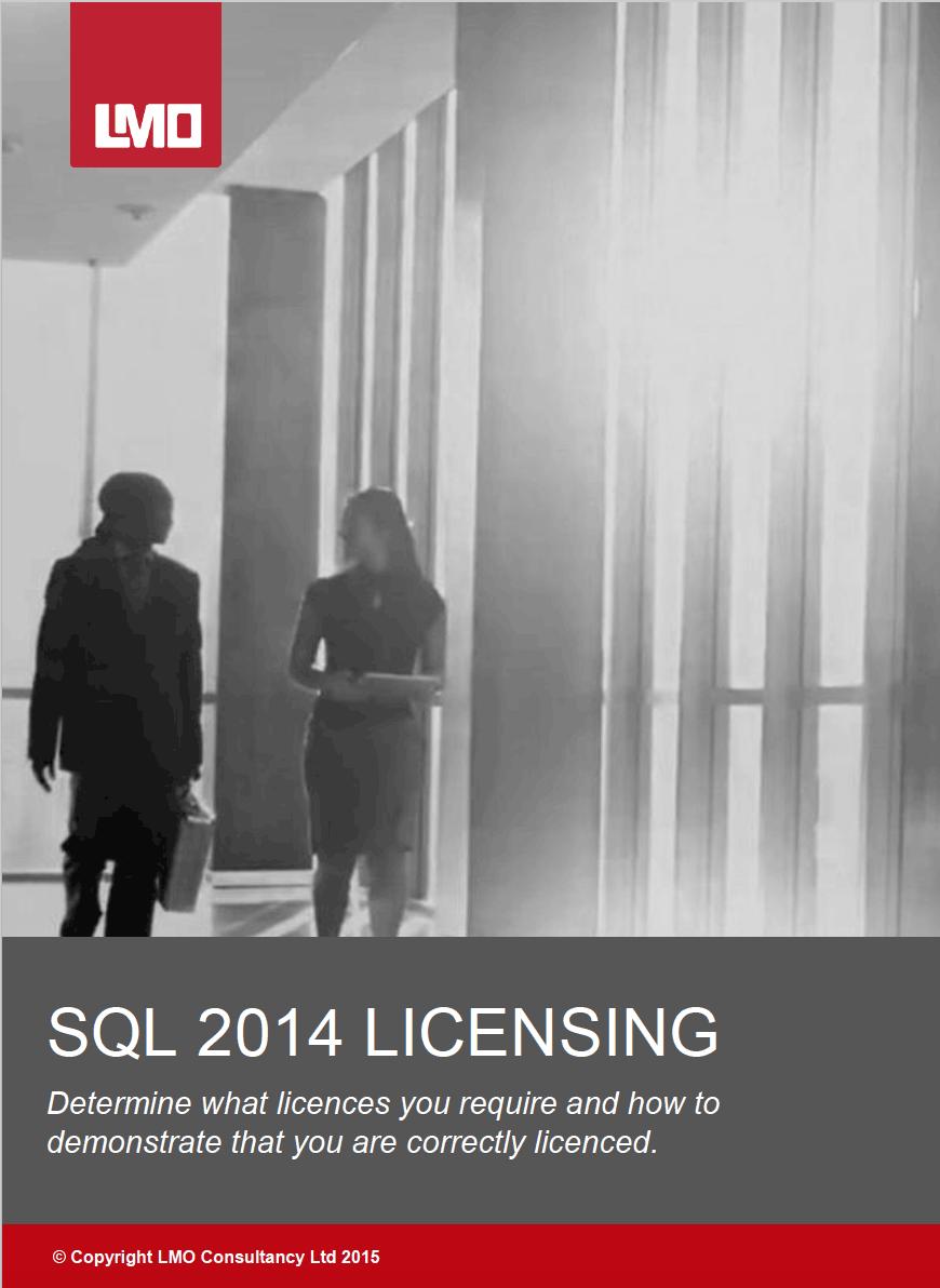 SQL 2014 Licensing