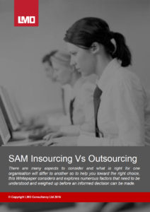 Whitepaper SAM Insourcing vs Outsourcing